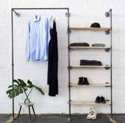 Offener DIY Kleiderschrank Garderobe Temperguss