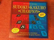 Brettspiel Sudoku und Kakuro Champion