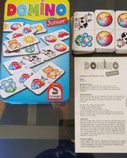 Kinderkartenspiel Domino Junior von Schmidt