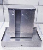 Edelstahl Futterautomaten für Wellensittiche