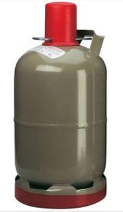 Camping Gasflasche 11kg grau Eigentumflasche
