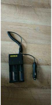 Batterie-Ladegerät nur mit Autostecker gebraucht