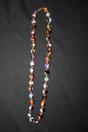 Original Murano Millefiori Glasperlen-Collier super
