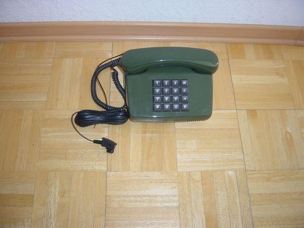 Altes Tasten Post Telefon KRONELINE