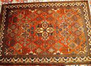Sammlerteppich Keschan 154x106 antik T109