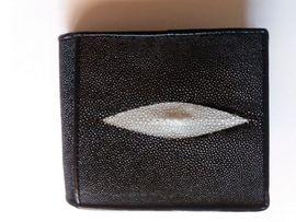 Taschen, Koffer, Accessoires - PORTEMONNAIE ROCHEN STINGRAY ECHTES ROCHENLEDER