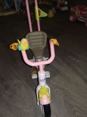 baby born Fahrrad Puppenwagen Schlitten