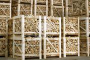 trocken Kaminholz Brennholz in der