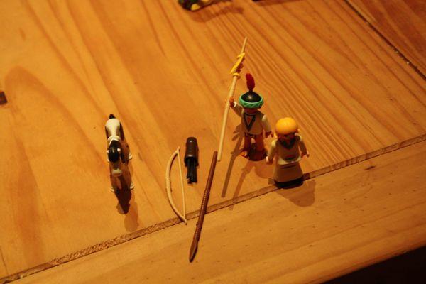 Playmobil Indianer und Squaw