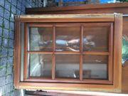 Holzfenster mit Sprosseneinsatz - 122 x
