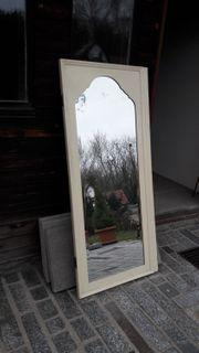 Spiegel Spiegeltür Retro Antik Echtholz