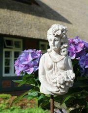 Zauberhafter Gartenstab Beetstecker Fleurette im