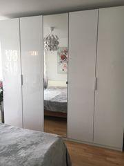 Kleiderschrank weiß 250cm B x