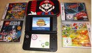 Nintendo 3DS XL Schwarz Mario