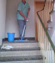 Hausflurreinigung Mann sucht Job Putzfrau