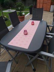 Gartentisch mit 4 Stühlen Hochlehner