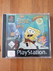 Spiel Spongebob für PlayStation1