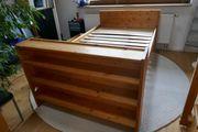Massives Holzbett 1 20m x