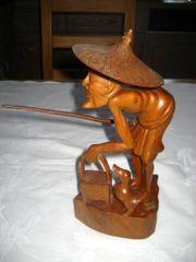 geschnitzte Holzfigur Figur aus Holz