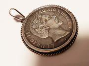 König Ludwig Bayern Silber Münze