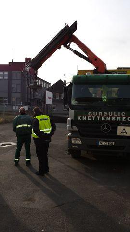 Bild 4 - Ladungssicherungen für Lkw Stapler Baumaschinen - Dietzenbach