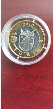 5 Euro Münze Finnland