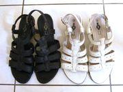 Sandalen Sandaletten Gr 38 echtes