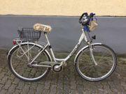 Damen Fahrrad mit tiefem Einstieg