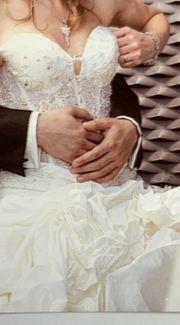 wunderschönes Hochzeitskleid Größe 34 36