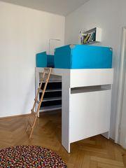 Wunderschönes hochwertiges Kinderhochbett