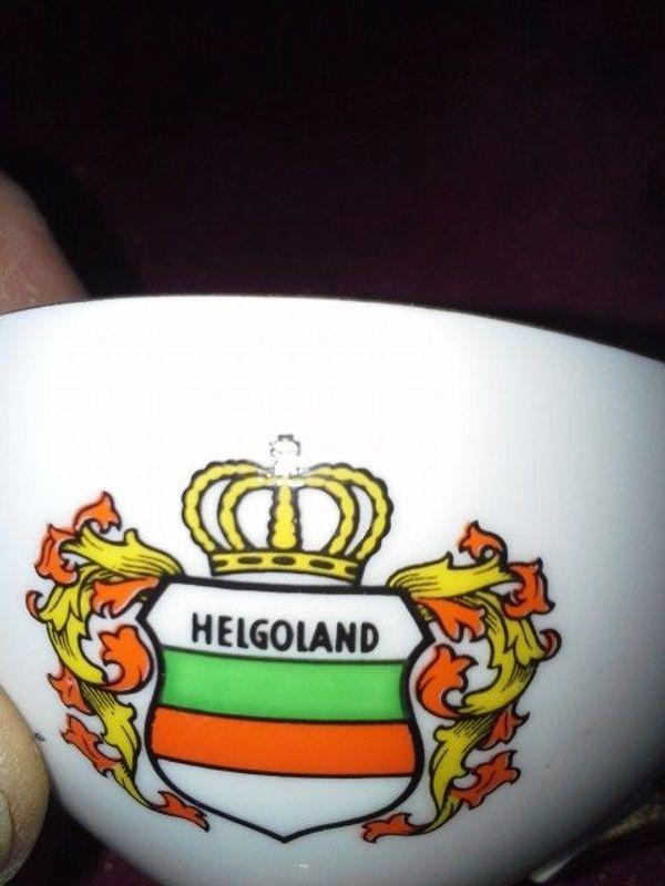27498 Sammel Gedeck Helgoland 50er