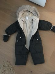 Baby Schneeoverall Gr 74