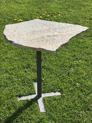 Gartentisch Naturstein Deko Tisch design