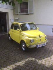 Fiat500 liebevoll Cinquecento genannt