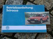 Betriebsanleitung VW Scirocco II 1985