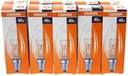 Glühbirnen 40 Watt Fassung E14