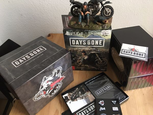 Playstation 4 Days Gone Collector