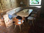 Bauernzimmer Sitzecke Tisch 3 Stühle
