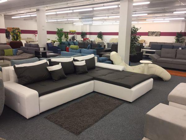 Liverpool Ecke* Couch Sofa Schlaffunktion Bettkasten Ecksofa in ...