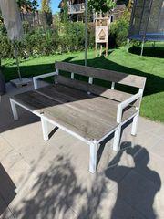 Sitzbank - Gartenliegelounge