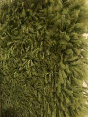 Grüner Langfloor-Teppich 160 x 230