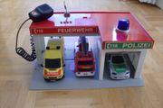 Kinderspiel- Feuerwehrstation Polizeistation