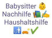 Babysitter Nachhilfe Haushaltshilfe gesucht