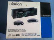 Clarion CZ200EG Radio Display flackert
