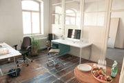 Co-Working-Plätze Büroräume im neu enstehenden