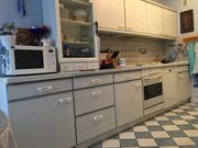 2-Zeilen Küche mit E-Geräten und