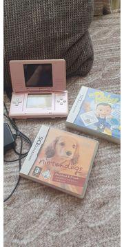 NINTENDO DS rosa 2 Spiele