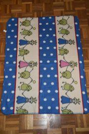Kinder-Decke Fleece-Decke PRINCE Prinzessin Frösche