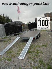 PKW Anhänger Autotransporter 2700kg Tieffahrwerk