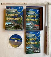Flugsimulator Spiel scenery Germany 1
